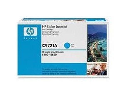 Preisvergleich Produktbild C9721A HP Toner Cartridge 641A Cyan HP 641A original Laserjet Tonerkassette 8000 Seiten/ für HP Color Laserjet 4600/N/DN/DTN/HDN.