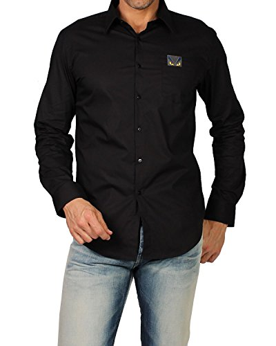 fendi-mens-shirt-hita-popeline-fs0655-96t-black-43-cm-17-inches-collar