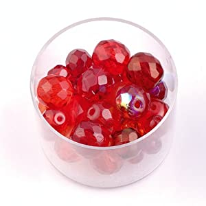 Gütermann / KnorrPrandell 2206925 - Cristal de Perlas Mezcla Rojo, 24g/Dose Importado de Alemania
