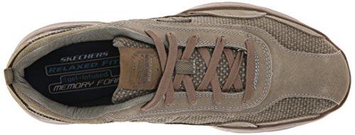 Skechers GlidesStatus, Sneakers basses homme Gris - Grau (Tpe)
