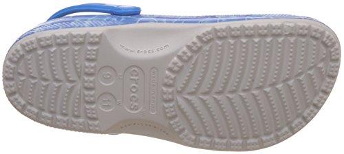 Crocs - Unisex Klassische Wasser Graphic Clog Mule Pearl White
