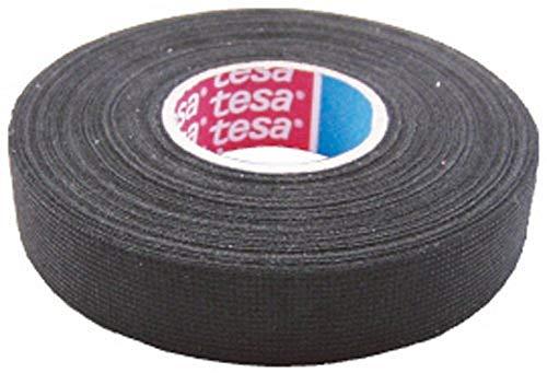 Tesa Gewebeband PET-Vlies 51608 Isolierband für Kabelbäume Baumwolle Klebeband (25mm x 25m)