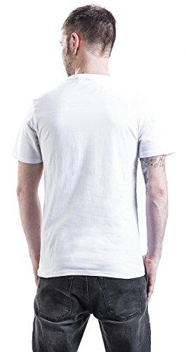 Minions Pirates & Flag T-Shirt weiß Weiß