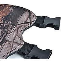 Bloomgreen Co. 1pc de Disparo de Tiro con Arco Flecha Camuflaje de Piel Tiro al Blanco de Tiro con Arco Guardia Brazo>