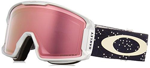Oakley Herren Line Miner 707030 1 Sportbrille, Silber (Galaxy Iron Ice/Prizmhipinkiridium), 99 -