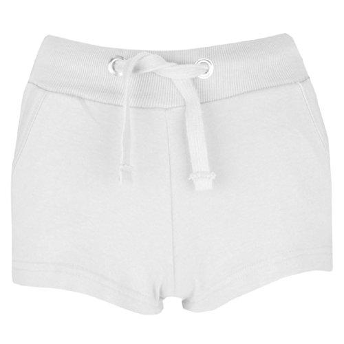 Femmes Vêtements décontractés Été vacances Shorts Taille 34 36 38 40 42 Blanc