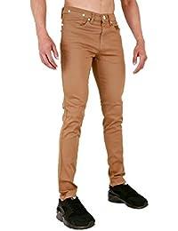 Super Skinny pour homme en sergé Chino élastique Jeans