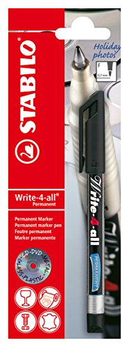 Permanent-Marker - STABILO Write-4-all - fein - schwarz