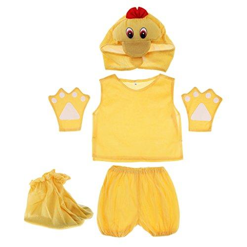 Kostüm Ente Kinder - MagiDeal Kinder Tier Kostüm - Ente