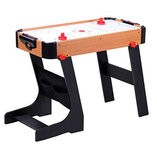 Guaranteed4Less Football Table Folding Gaming Game Sports Pool Air Hockey Foosball Soccer Indoor (Air Hockey)
