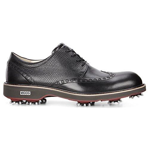 Mens Golfschuhe schwarz Herren Golf Ecco Lux 6qC8Unw