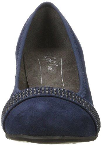 Softline 22474, Escarpins Femme Bleu (Navy)