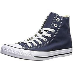 Converse Chuck Taylor All Star, Zapatillas altas Unisex adulto, Azul (Navy), 44