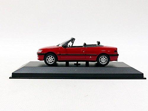 Miniature Peugeot 306 Cabriolet - 1998 - Echelle 1/43, Rouge