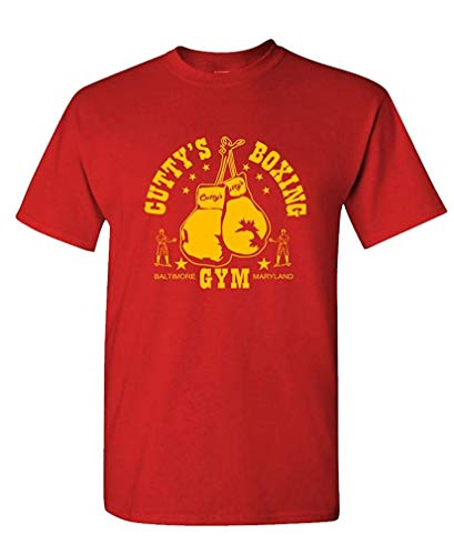 Boxing CUTTY'S Gym - Baltimore The Cut - Mens Cotton T-Shirt S -