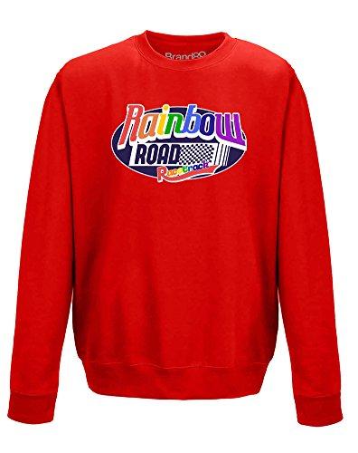 track, Erwachsene Gedrucktes Sweatshirt - Rote 2XL = 132cm ()