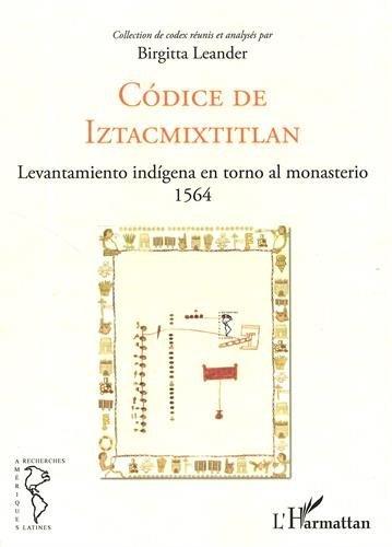 Codice de Iztacmixtitlan : Levantamiento indigena en torno al monasterio 1564