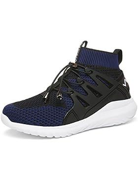 [Patrocinado]Ashion Zapatillas Unisex Niños Running Niños Sneakers Running Calzado de Fitness Zapatos de Entrenamiento Para...