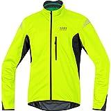 GORE BIKE WEAR Herren Warme Soft Shell Fahrrad-Jacke, GORE WINDSTOPPER, ELEMENT WS SO Jacket, Größe: L, Neon Gelb/Schwarz, JWSMEL