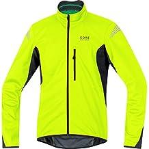 Gore Bike Wear Element Windstopper Soft Shell - Chaqueta para hombre, color amarillo / negro, talla L