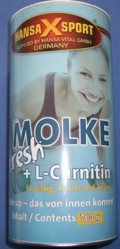 Molke fresh Shake + L-Carnitin, 700g Dose, Hansa-X-Sport, Vanille