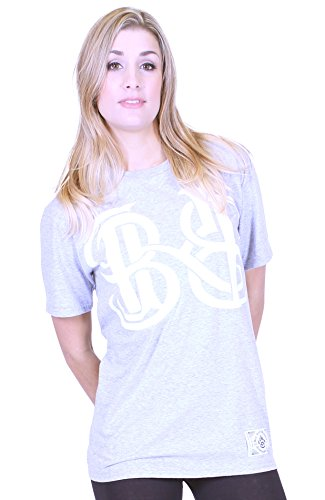 BKB - Maglia sportiva -  donna Heather Grey Large