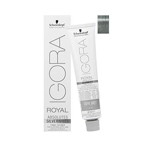 Royal White Salt (Schwarzkopf Igora Royal Absolutes SILVERWHITE Tonal Refiner (Dove Grey) by Schwarzkopf)