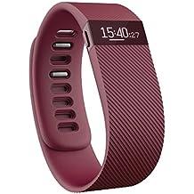 Fitbit Charge - Pulsera de actividad física y sueño inalámbrica, talla L, color burdeos