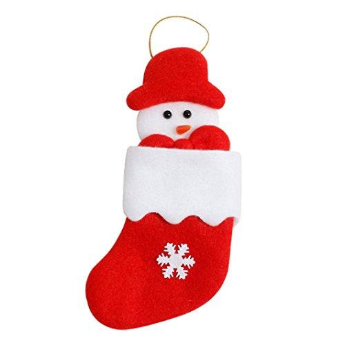 um-Verzierungen, Dekoration-Essgeschirr-Abdeckung, Weihnachtsgabel-Tafelbeutel, Süßigkeits-Beutel Hung auf Chritmas Baum, Weihnachten hängen Geschenk (B) (Cookie-bevorzugung Taschen)