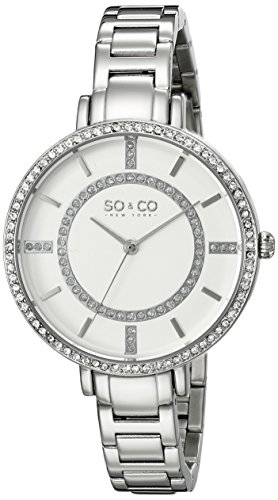 so-co-50661-new-york-soho-womens-quartz-watch-with-white-dial-analogue-display-and-silver-stainless-