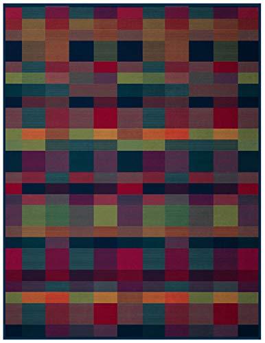 biederlack Wohndecke Baumwollmischung bunt Größe 150x200 cm