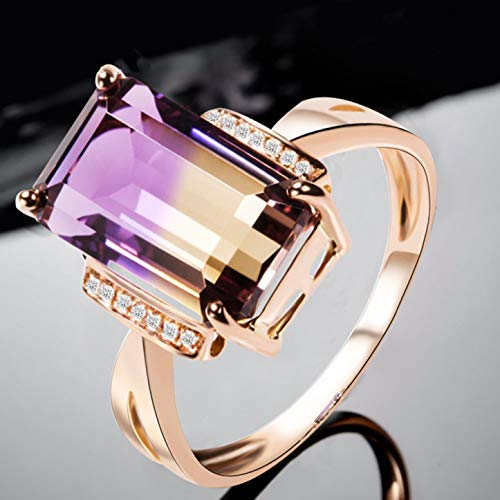 Schmutzige Kostüm Frauen - BradleySalomeBra auffälliger Opal Sterling Silber Fashion Gemstone Ring(None Rose Gold)