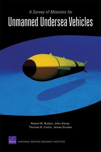A Survey of Missions for Unmanned Undersea Vehicles by Button, Robert W., Kamp, John, Curtin, Thomas B., Dryden, Ja (2009) Paperback