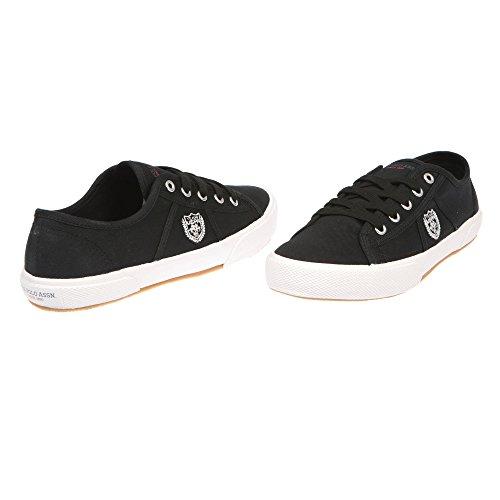 U.S. POLO Scarpe Basse Donna Chiusura Con Lacci, Stile Sneaker - mod. SOLAD4188S7-C1 Nero