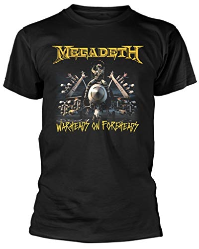 Megadeth 'Afterburn Plane' (Black) T-Shirt (Medium)