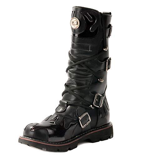 Round Toe Short Bein Wadenstiefel Für Männer Mode -