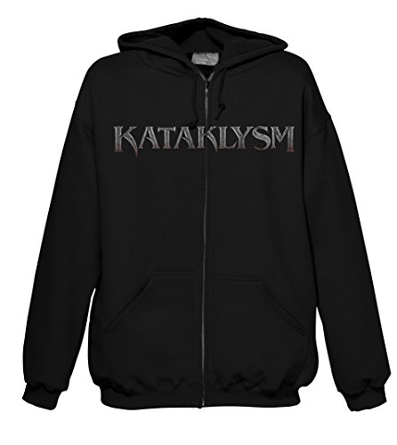 Like Animals Kataklysm 702301 uomo zip-hood nero 60/62