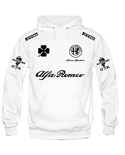 BENVESTI Sweatshirt Hoodie Men Alfa Romeo Cuore Sportivo Racing Personalized Customized