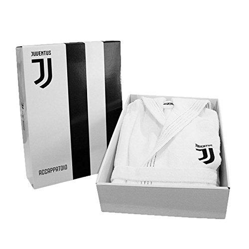 Juventus 96310102131Bademantel, 100% Baumwolle, Weiß, 40x 28x 6cm, 6Stück