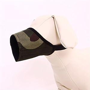Combinaison de Chien, YouGer Ajustable Couverture de Bouche de Chien Anti-Morsure aboyer pour Chien Masque Masque Masque