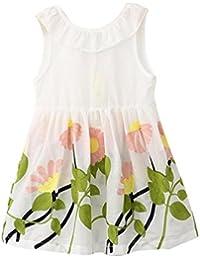 Lazo para 2–7años de edad de niñas, deloito de princesas Pageant de Leigh Ann Tennant tutú vestidos de flores