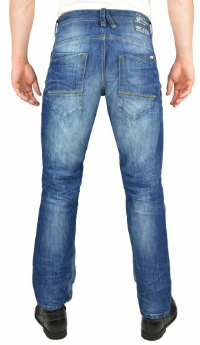 PME jeans-fit lEGEND straight homme Bleu - Bleu