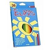Crayons de couleur Giotto Elios de 36