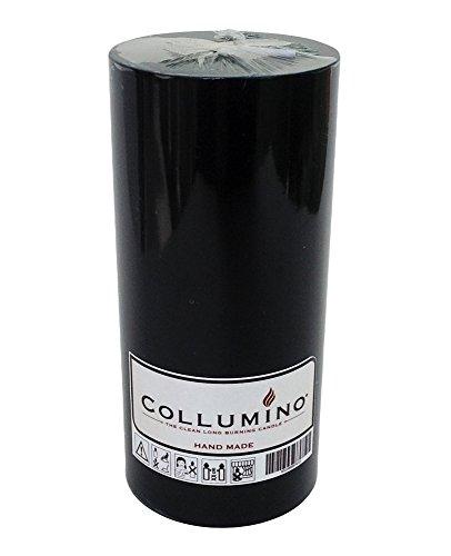 Collumino negro sólido de gran tamaño color Pilar Vela 110horas tamaño 15x 7cm