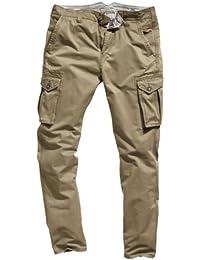 Timezone Herren Hose Normaler Bund Corbin cargo pants 26-0296