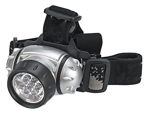 Topex 94 W817 - Lanterne de face, 7 LED, piles AAA