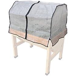 Veg Trug Micro-Netz-Abdeckung Ohne Rahmen für Hochbeet Small L100cm
