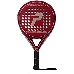 Power Padel Red Mate 2015 - Pala de pádel unisex, color rojo, 38 mm