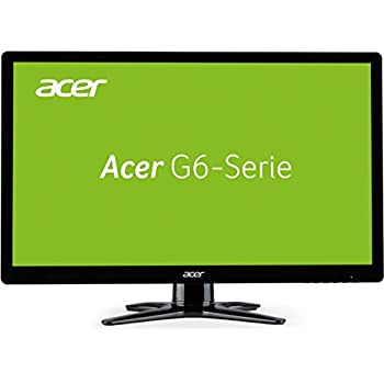 Acer G276HLAbid 68,6 cm (27 Zoll) TFT-Monitor (VGA, DVI, HDMI, 5ms Reaktionszeit) schwarz
