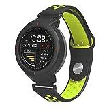 Kokymaker Plastico Correa Xiaomi Huami 3 Verge Banda/Band/Pulsera/Strap de Recambio 14mm Reemplazo Adjustable Band de Nilón para AMAZFIT Smartwatch